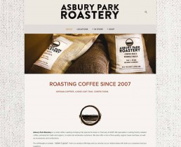 asbury Park Roastery Website
